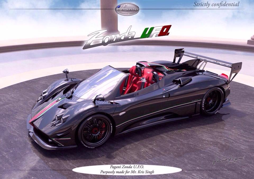 Kris Singh Adds Pagani Zonda UFO to his Supercar Collection