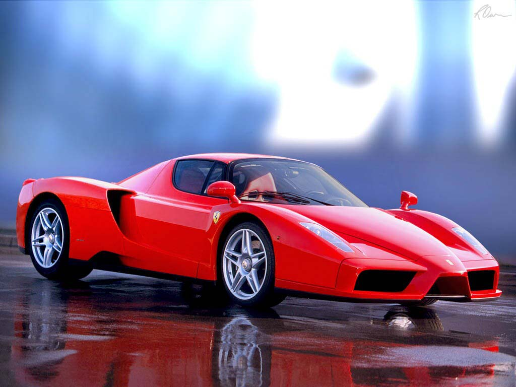 The Ferrari Enzo A 650 Horsepower Super Car Named After Its Founder