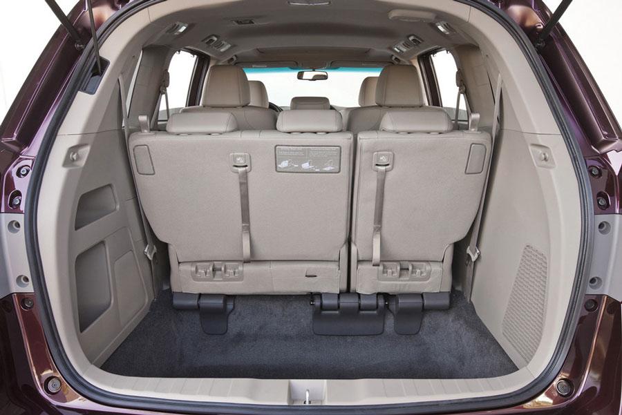 2006 Honda Odyssey Cargo Space