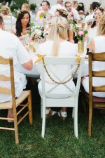Elegant White + Gold Birthday Party