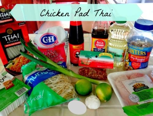 Chicken Pad Thai Recipe for Dummies | The Mochilera Diaries