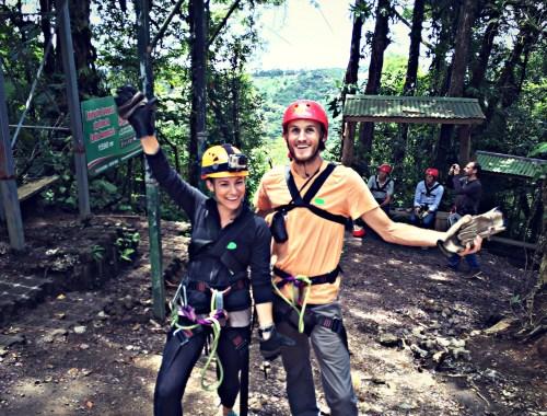 Ziplining with 100% Aventura, Monteverde, Costa Rica