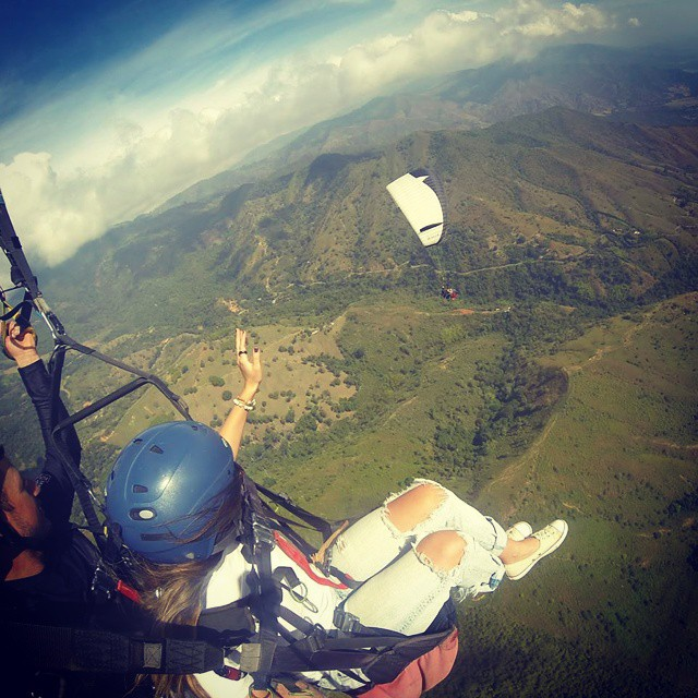 Paragliding in Colombia