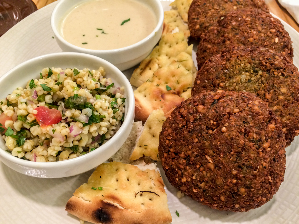 Falafel at Avocado in Athens