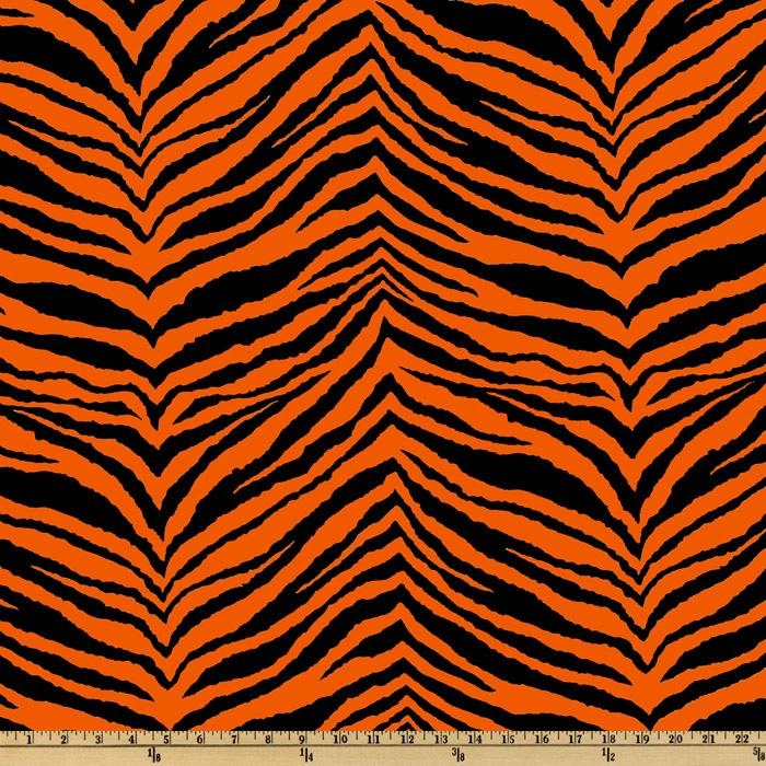 Navy Pin Up Girl Wallpaper Tiger Stripes Navy Orange
