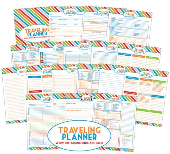 Get Organized For Your Next Vacation With Our Free Travel Planner