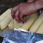 Pre-Buttering the Corn
