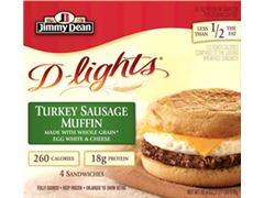 Jimmy-Dean-DLights-Sandwiches-Turkey-Sausage-Muffin