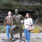 Jeff and Colleen touring the Jack Daniels Distillery