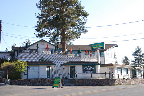 The Evergreen Restaurant in Big Bear