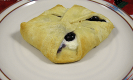 cheater blueberry danish