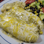 Shrimp Enchiladas Verde