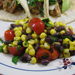Lighter Black Bean and Corn Salad