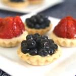 French Fruit Tart with Vanilla Pastry Cream
