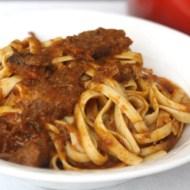 Braised Beef Short Ribs Tagliatelle