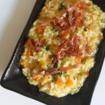 Prosciutto di San Daniele and Caramelized Carrot Risotto
