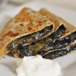 Huitlacoche and Pepper Jack Quesadillas