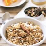 Coconut Chai Oatmeal