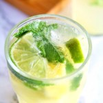 Pineapple Mint Mojitos