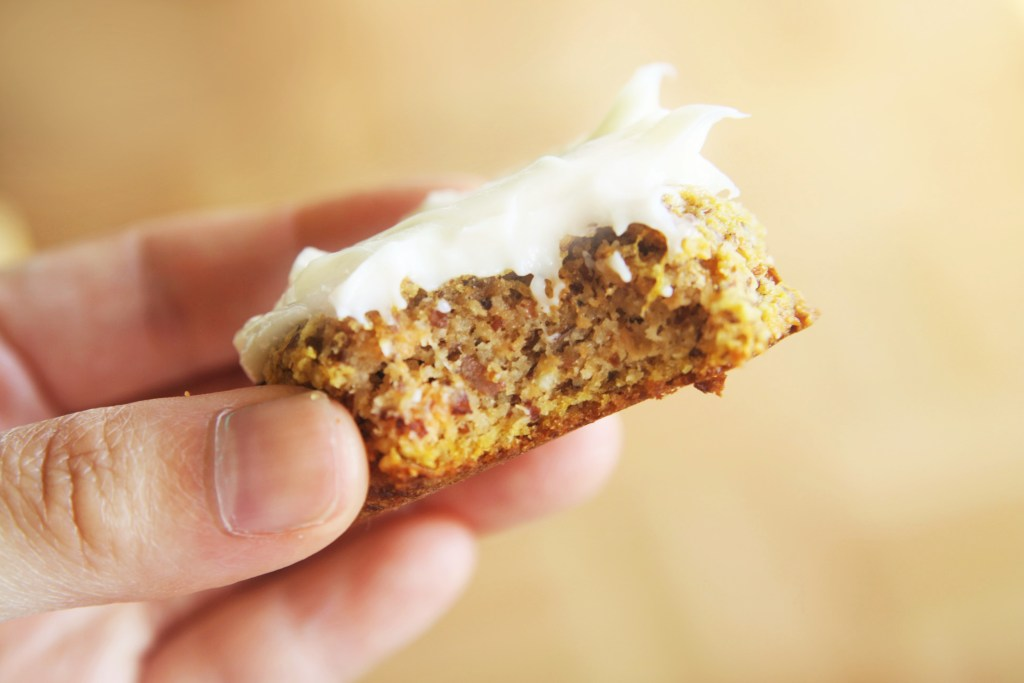Paleo Carrot Cake Cream Cheese Frosting