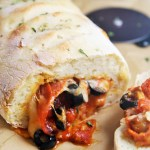 Inside-Out Pepperoni Pizza Roll