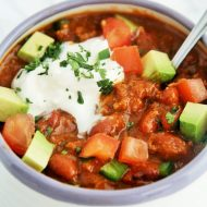 Easy 5-Ingredient Chili