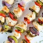 Grilled Turkey Fajita Kebabs