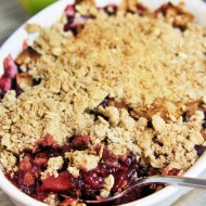 Apple Blackberry Crisp {Gluten-Free}