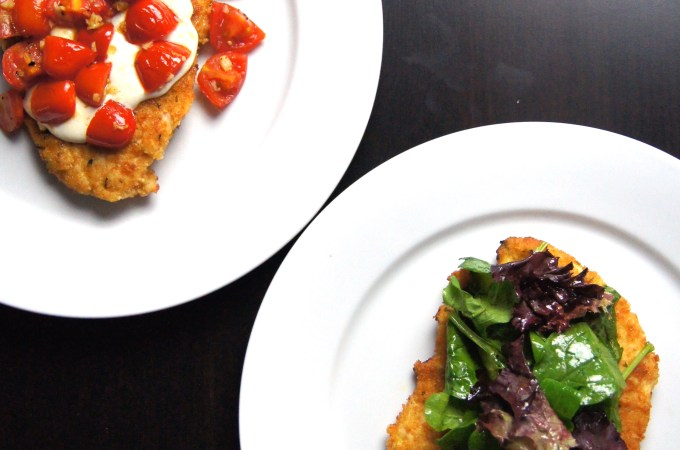 Chicken Milanese Two Ways