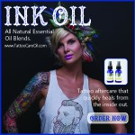 New Tattoo Healing Product – Ink Oil