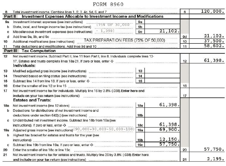 Is an Anomaly in Form 8960 Resulting in an Unintended Tax on Tax - tax exemption form