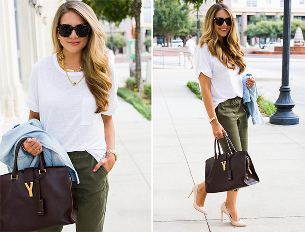 Green Pants Outfit