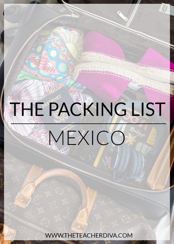 Packing for Mexico