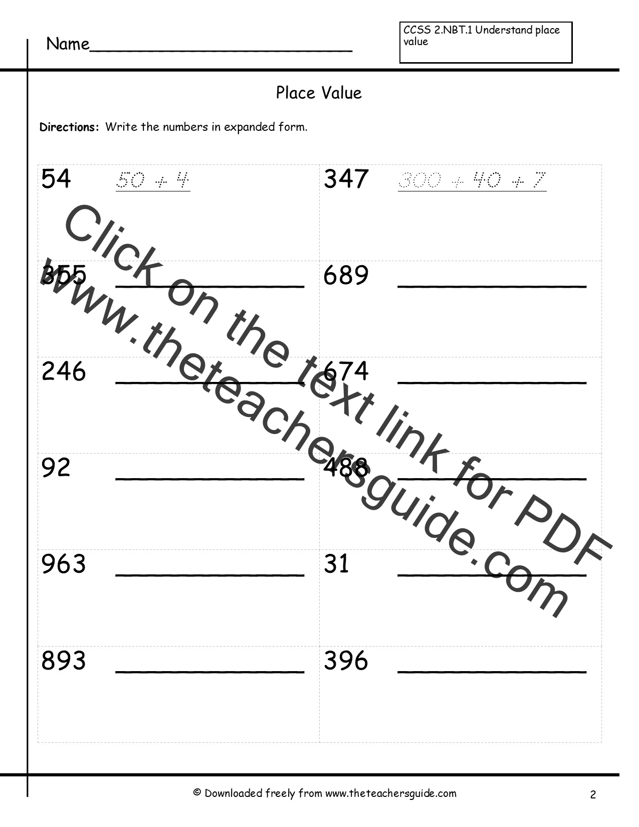 worksheet Expanded Form With Decimals decimal expanded form image collections example ideas writing decimals in images place value scalien numbers