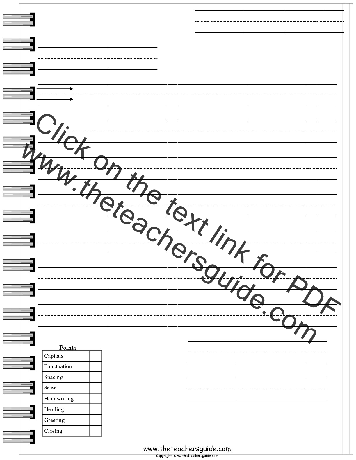 Worksheet Free Letter Writing Paper Wosenly Free Worksheet – Letter Writing Paper Template