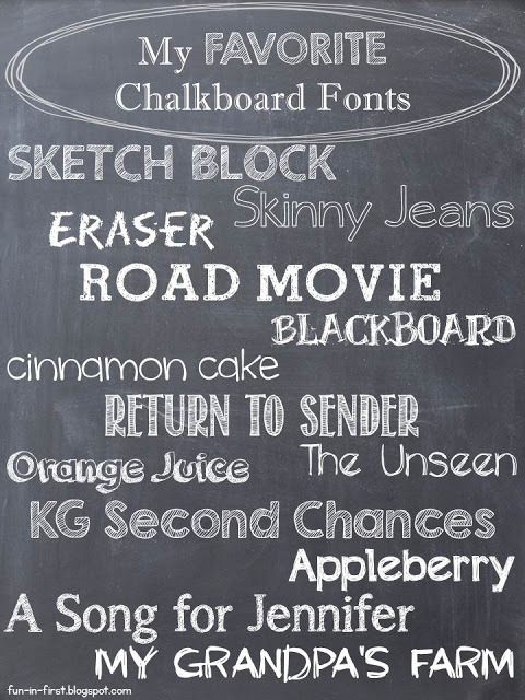 Chalkboard Craze - Free Fonts - The Teacher Treasury