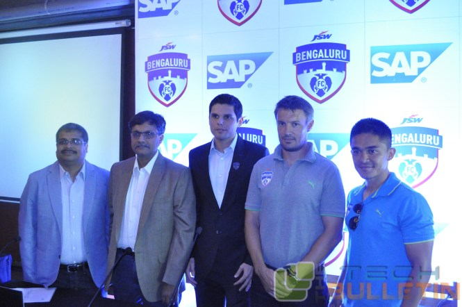 DilipKumar Khandelwal, Srikanth GopalaKrishnan, Mustafa Ghouse, Ashley Westwood and Sunil Chhetri