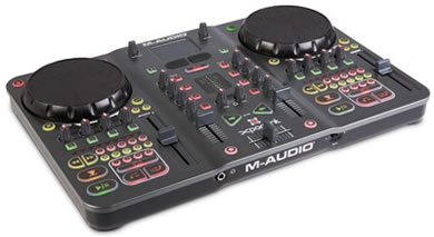 M Audio Exponent at the BPM DJ show reviewed by MC Rebbe The Rapping Rabbi in The Technofile