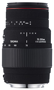 Sigma 70-300mm f4.-5.6 APO DG Macro reviewed in The Technofile by MC Rebbe The Rapping Rabbi