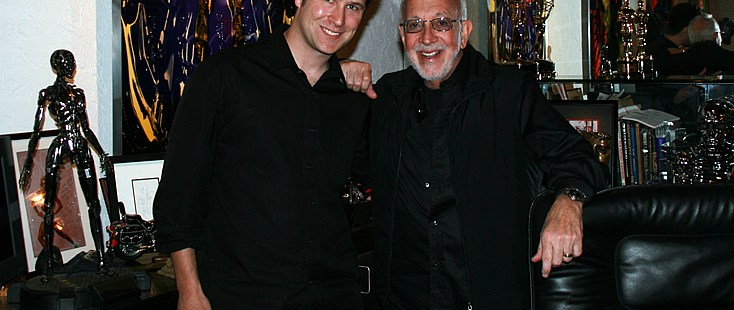 Raffael Dickreuter and Stan Winston