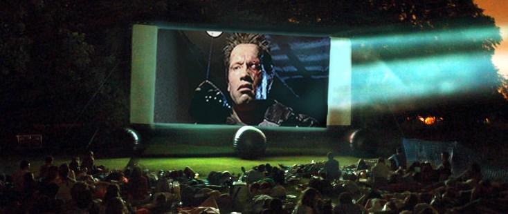 The Terminator Pop Up Screens