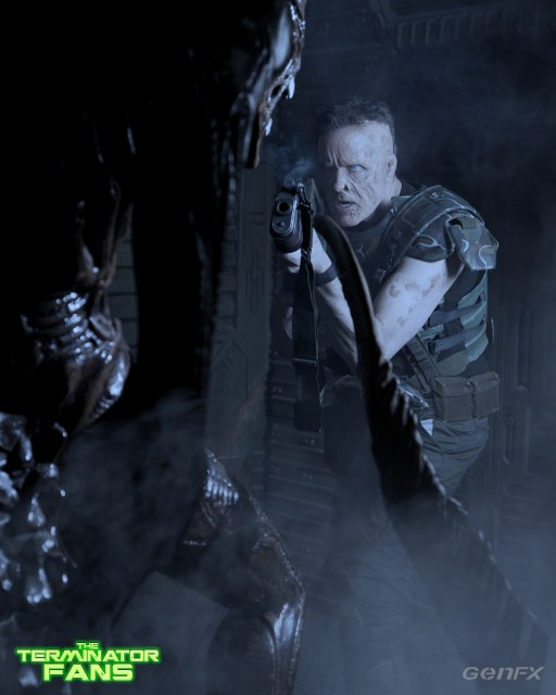 Hicks Alien 5 Make-Up Test Generation Effects