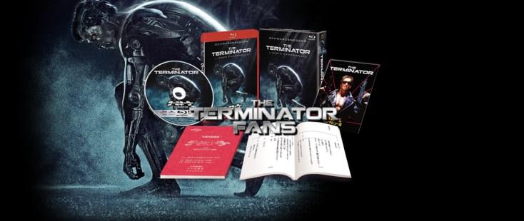 Japan The Terminator Limited Edition Blu-Ray