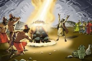 elijah altar 12 stones baal