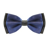 Two Tone Navy Blue Bow Tie  The Tie Rack Australia