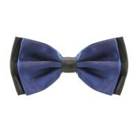 Two Tone Navy Blue Bow Tie  The Tie Rack Australia   Shop ...