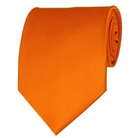 Orange Neckties Solid Color Ties - Stanard Adult Size ...