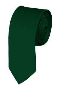 Skinny hunter green ties - Satin - Mens Neckties ...
