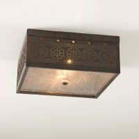 Colonial, Country and Primitive Ceiling Lighting