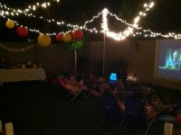 Caitlin's Backyard Movie Party :: New Party Collection ...